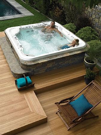 hot spring summit 6 person spa hot tubs spas aqualux spas. Black Bedroom Furniture Sets. Home Design Ideas